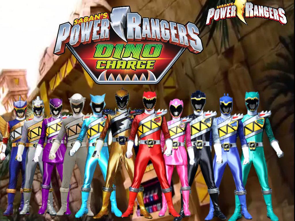 Power Rangers Dino Super Charge full team