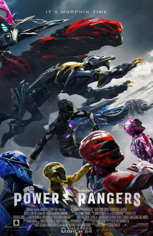 Imagem: Divulgação - Lionsgate Publicity | Pôster Oficial Power Rangers O Filme