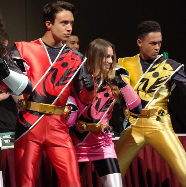 Power Morphicon 2016: Apresentação dos Power Rangers Ninja Steel - William Shewfelt, Chrystiane Lopes e Chantz Simpson