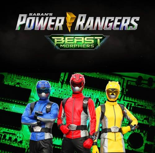 2019 - Power Rangers Beast Morphers